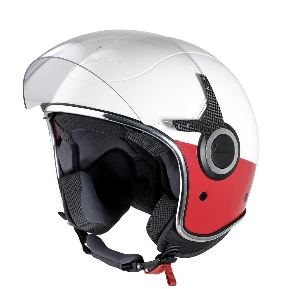 Helma Vespa VJ montebianco rosso - Vespa - Helmy na skútr - Helmy na ... 8cc055e41da