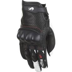 85d0e459b3b Dámské kožené rukavice Furygan TD21 LADY - černá bílá