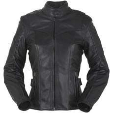 Dámská kožená bunda na motorku Furygan BELLA - černá 63aff4bc6f8