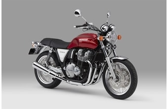 Honda CB 1100EX candy chromosphere red