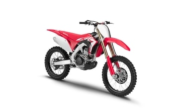 Honda CRF250R red extreme