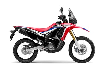 Honda CRF250 Rally red extreme