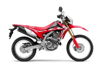 Honda CRF250L red extreme