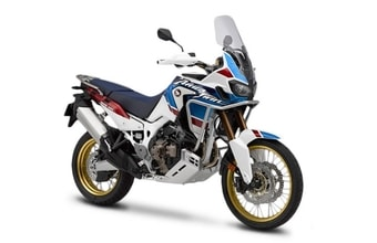 Honda CRF1000L Africa Twin Adventure Sports pearl glare white tricolour