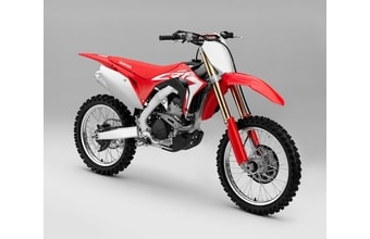 Honda CRF 250R red extreme
