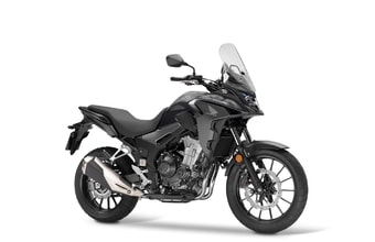 Honda CB500X matt gunpowder black metallic