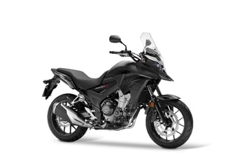 Honda CB 500X matt gunpowder black metallic