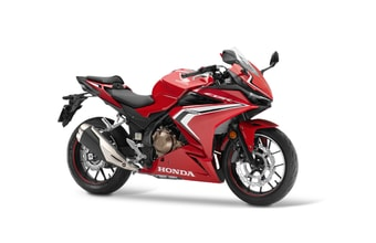 Honda CBR500R grand prix red