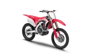 Honda CRF 450R red extreme