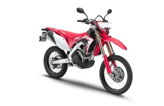 Honda CRF450L red extreme