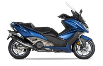 Kymco AK 550i ABS matt blue