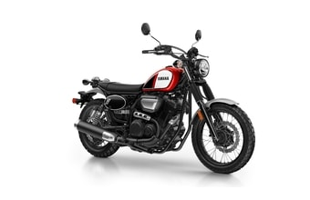 Yamaha SCR 950 red