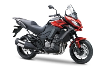 Kawasaki Versys 1000 candy fire red