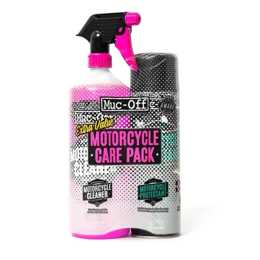 SADA ČISTIČŮ NA MOTORKU MUC-OFF BIKE SPRAY DUO PACK