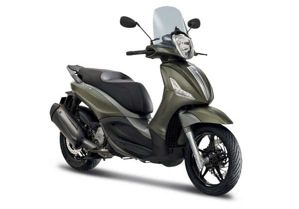 PIAGGIO BEVERLY S 300 ABS ASR VERDE OPACO