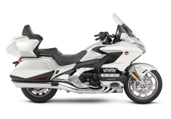 HONDA GL1800 GOLD WING TOUR PEARL GLARE WHITE
