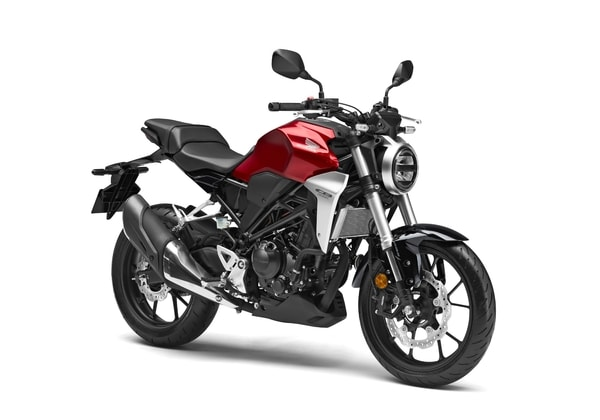 HONDA CB 300R CANDY CHROMOSPHERE RED