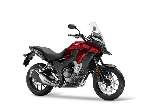 HONDA CB 500X CANDY CHROMOSPHERE RED