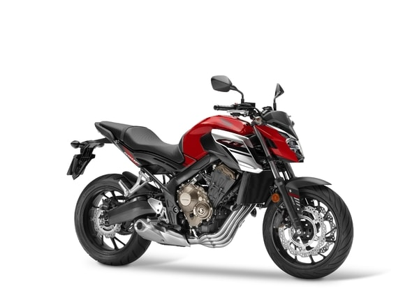 HONDA CB650F CANDY CHROMOSPHERE RED