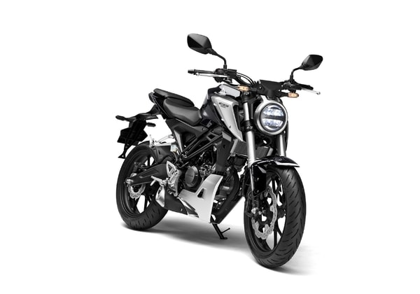 HONDA CB 125R MATT AXIS GREY METALLIC